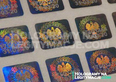 hologramy i legitymacje
