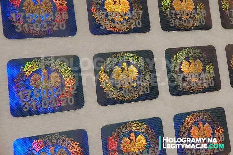 Nowe hologramy do legitymacji z datą 2020 już dostępne