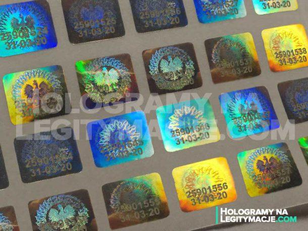 Opinie o hologramach na legitymację